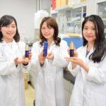 近大マグロのコラーゲン使い「ルイキャラット美容液」を開発」。