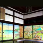 大徳寺京都特別公開、2018秋の最新情報、名刹の襖絵「釣りバカ日誌」作者達6人が描く紹介動画。アクセス(地図)、駐車場等を紹介。